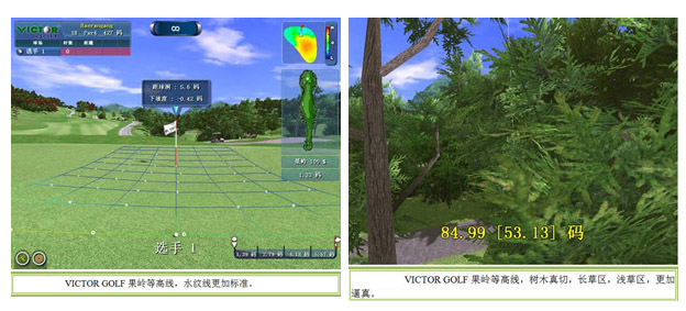 victor golf模拟高尔夫果岭